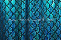 Blue Mermaid Scale. 4 pieces 40% off