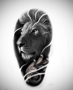 Tattoo Roman Tihanov - tattoo's photo In the style Realistic, Lio Lion Chest Tattoo, Mens Lion Tattoo, Tattoo Designs, Lion Tattoo Design, Leo Tattoos, Animal Tattoos, Tattoo Sketches, Tattoo Drawings, Estilo Mehndi