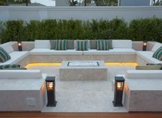 41 Affordable Diy Project Fire Pit Table Ideas To Decorate Y. - 41 Affordable Diy Project Fire Pit Table Ideas To Decorate Your House In Winter - Backyard Seating, Backyard Patio Designs, Modern Backyard, Garden Seating, Backyard Ideas, Backyard Landscaping, Firepit Ideas, Landscaping Ideas, Patio Bar