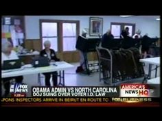 The Department of Justice is once again attempting to interfere in individual state law surrounding voter registration and identification - this time their target is North Carolina. AG Eric Holder'...