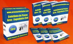 Coletânea Provas para Concursos - Engenheiro Civil
