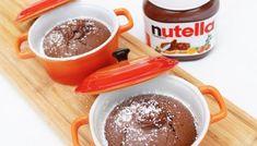 Nutella koekjes met 3 ingrediënten - Annabella's Foodblog Nutella Lava Cake, Lava Cakes, Desserts, Food, Lotus, Tailgate Desserts, Deserts, Lotus Flower, Essen