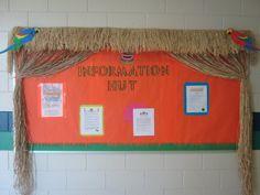 Survivor theme-information hut