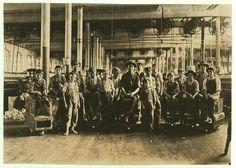 Kids working at Mollahan Mills in Newberry, South Carolina (12/3/1908)