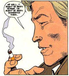 John Constantine in Hellblazer Constantine Comic, Constantine Hellblazer, Hellblazer Comic, Proton Pack, Justice League Dark, Vertigo, Geek Culture, Comic Covers, Comic Artist