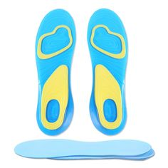 Novelty & Special Use 1 Pair Small Size Orthotic Arch Support Massaging Silicone Anti-slip Gel Soft Sport Shoe Insole Pad For Man Women