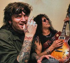 Tommy Lee & Slash