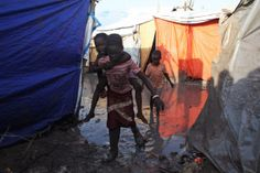 PHOTO: Refugee kids in UN base in Malakal, Upper Nile State of #SouthSudan May 30. #SouthSudanCivilWar