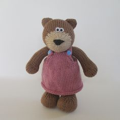 Ravelry: Teddy Bear pattern by Amanda Berry