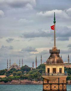 Foto Osman Topçu /Kizkulesi Üsküdar -Istanbul -Türkiye