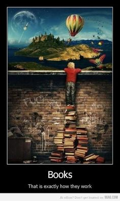 The Power of Books - just darken his hair a little and this is you!