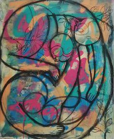 Futura Stayathome Watercolor Tattoo, Tattoos, Painting, Futurism, Art, Tatuajes, Tattoo, Painting Art, Paintings