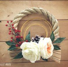 100均でお正月飾りのしめ縄をおしゃれに簡単DIY|LIMIA (リミア)