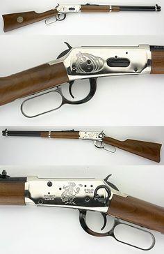 30-30 lever action rifle | WINCHESTER 1894 COWBOY COMMEMORATIVE CARBINE 30-30 LEVER ACTION RIFLE-SR: