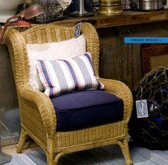 Ralph lauren home american summer collection 3 rattan armchairs