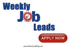 Need a work from home job but just don't know where to search? Check out our weekly work from home job leads.