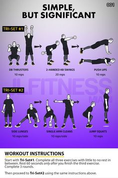 Hiit Workouts For Men, At Home Workouts, Circuit Workouts, Workout Men, Workout Routines, Workout Ideas, Cardio, Dumbbell Workout, Kettlebell Training