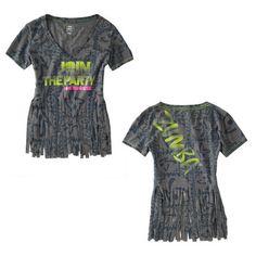 zumba cut out shirt
