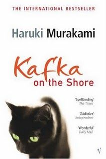 "Reading this again! ""kafka on the shore"""