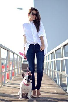shoes, jeans, white