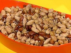 These Sesame Five-Spice Roasted Nuts are the perfect, salty appetizer to get your party started.