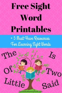Share Tweet Pin Mail Does your child need help trying to learn their sight words? These sight word printables are perfect for a child ...