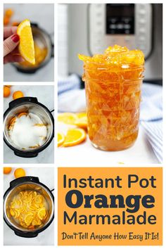 Awesome Recipe, Incredible Recipes, Instant Pot Pressure Cooker, Pressure Cooker Recipes, Food Words, Recipe Please, Slice Of Bread, Marmalade, Freezer Meals