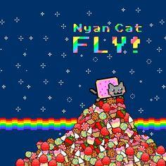 Nyan Cat соскучился по тебе, скорее забирай его! http://skinon.ru/skin/mem_13 #скин   #скинон   #интернет   #мемы
