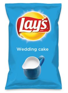 Wouldn't Wedding cake be yummy as a chip? Lay's Do Us A Flavor is back, and the search is on for the yummiest flavor idea. Create a flavor, choose a chip and you could win $1 million! https://www.dousaflavor.com See Rules.