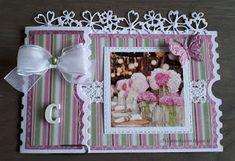 Nicolette's kaarten Ticket Card, Small Cards, Studio Lighting, Cardmaking, Frame, Gifts, Handmade, Labels, Inspiration