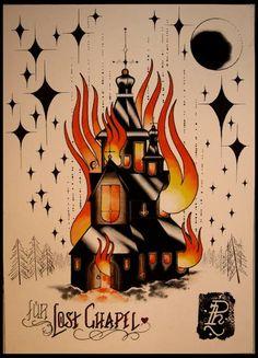 Burning Church design