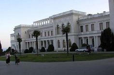 The Lavidia Palace where the Romanovs spent many happy holidays. The palace is located on the Black Sea.