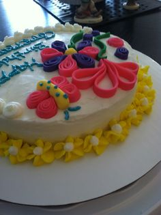 Spring time birthday cake pic 3