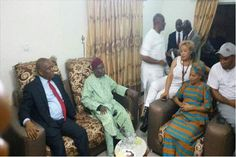 Former Abia state Governor, Orji Uzor Kalu shared the pictures on his facebook page with the short note.