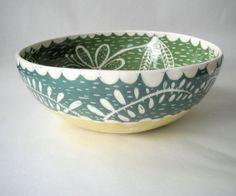 Made to Order Large 12 inch Salad Serving Bowl by CeramicaBotanica, $175.00