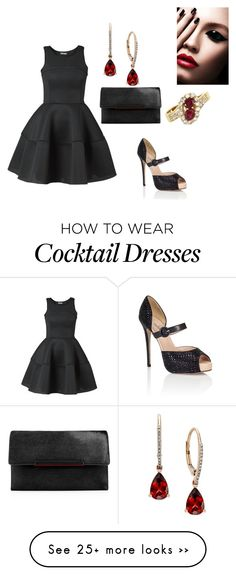 """Untitled #990"" by janicemckay on Polyvore featuring Valentino and Christian Louboutin"