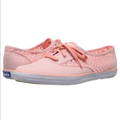 Keds Cut Out Coral Sneakers Size 9 Brand new, super cute! keds Shoes Sneakers