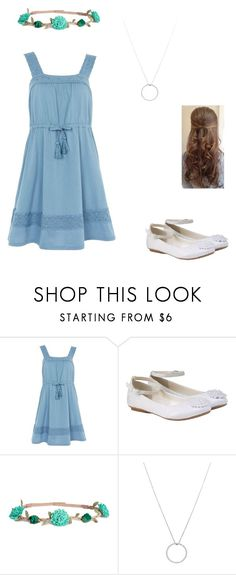 """Alissa's Dinner Dress"" by mia-evergreen on Polyvore featuring Topshop, Monsoon, H&M and Roberto Coin"