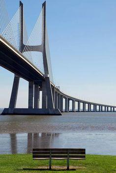 Vasco da Gama Bridge - Lisboa, #Portugal ©Luis Novo