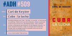 #ADH #509 #informatief  Cuba, la lucha | Carl De Keyzer  http://zoeken.kortrijk.bibliotheek.be/detail/Carl-de-Keyzer/Cuba-la-lucha/Boek/?itemid=|library/marc/vlacc|9750796