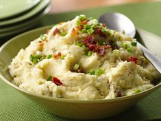 Creamy Ranch mashed potatoes  #food #recipe #potato
