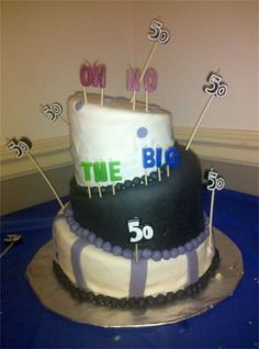 Over the Hill 50th Birthday Cake!