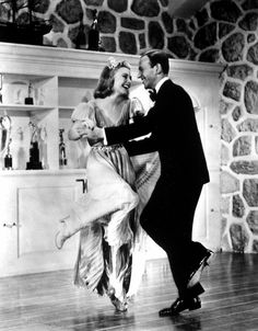 Ginger Rogers and Fred Astaire in 'Carefree' 1938