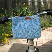 Ready-to-Roll Bike bag. Made this for my bike. Good, easy pattern.