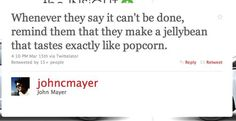 inspirational pep talk by John Mayer