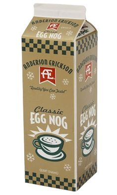 AE Classic Egg Nog - Christmas in a glass!
