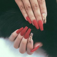 51 Stylish Acrylic Nail Designs for New Year 2019 – Long Nails – Long Nail Art Designs Fall Acrylic Nails, Acrylic Nail Designs, Hair And Nails, My Nails, Dope Nails, Winter Nails, Fall Nails, Holiday Nails, Summer Nails
