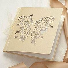 Elegant Butterfly Wedding Invitations