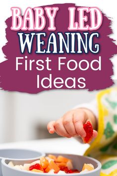 use these tips to help make baby led weaning easier and more convenient for you and your family. Check out what foods to start with baby led weaning. See what foods are best to try first with BL. These are great tips for beginners in baby lead weaning and great tips for new parents. Healthy Eating Habits, Healthy Foods To Eat, Healthy Fats, Weaning Toddler, Baby Led Weaning First Foods, First Finger Foods, Baby First Foods, Pureed Food Recipes, Baby Food Recipes