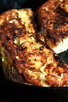 """TARTINE BAKERY'S FRENCH TOAST ~~~ this recipe is shared from the book, """"tartine bread"""". [Chad Robertson] [alexandracooks]"""